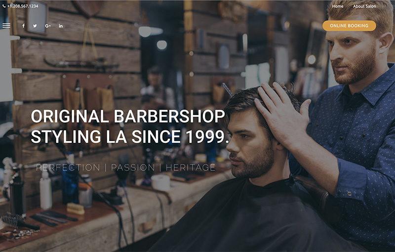 Landing barber