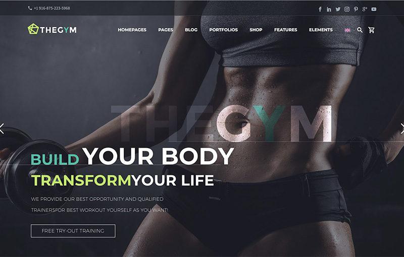 Landing-fitness site