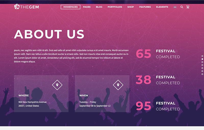 Landing music festival